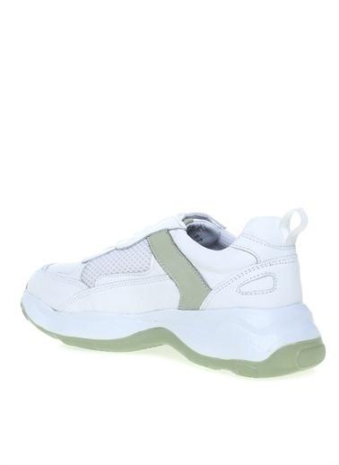 Greyder Greyder Beyaz - Yeşil Sneaker Beyaz